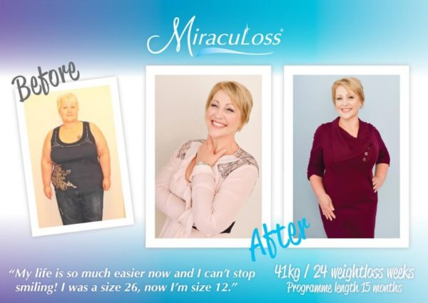Dawn's weight loss - from size 26 to size 12!